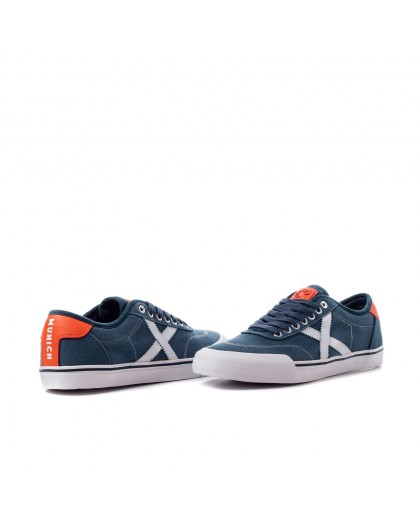 Vista duo Zapatillas Munich Stone 05 azul