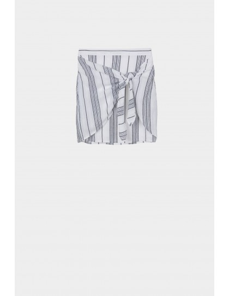 falda rallas mujer