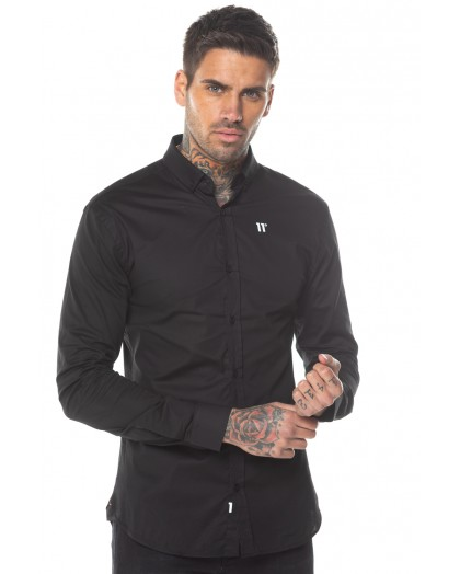 Camisa negra 11 degrees