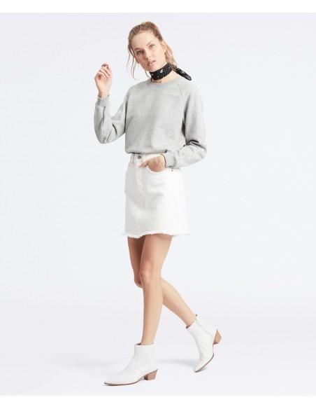 falda levis blanca