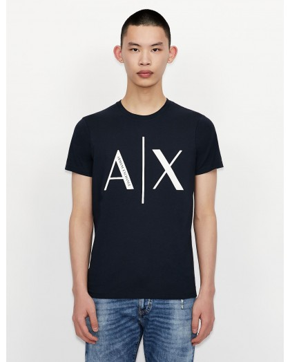 Camiseta Armani Exchange azul